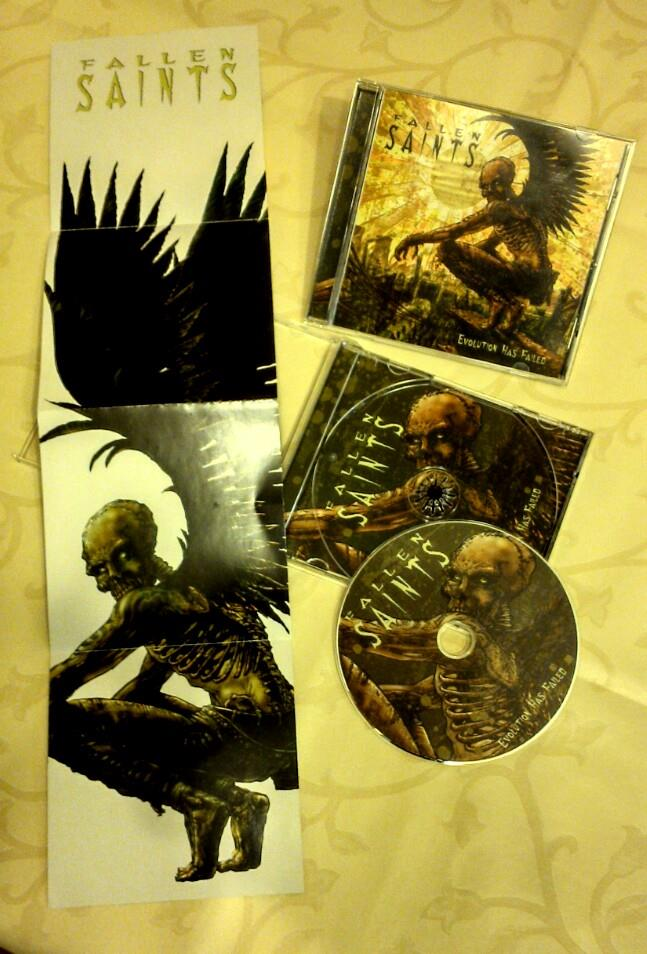 "CD FALLEN SAINTS ""Evolution Has Failed"""